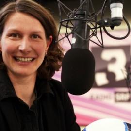 Kathrin Lehmann als Expertin für SRF 3 an der EM