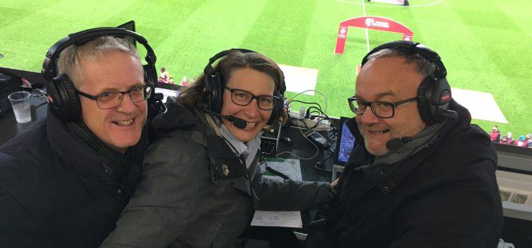 Ka Lehmann auch in der WM-Quali Expertin auf SRF3