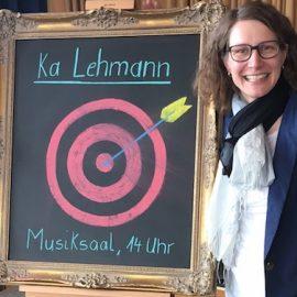 Wirtschaft im Gespräch: Ka Lehmann zu Gast in Bad Waldsee