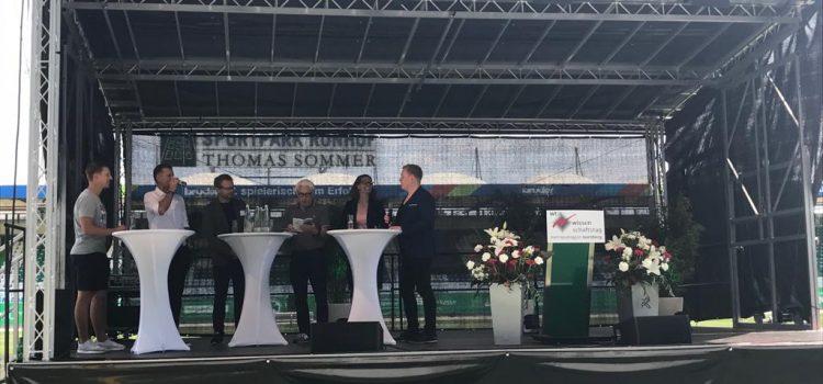 Eröffnung Wissenschaftstag mit Kathrin Lehmann