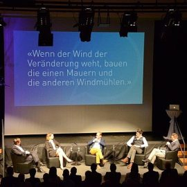 Ka Lehmann auf dem Panel am WSP Event in Aadorf