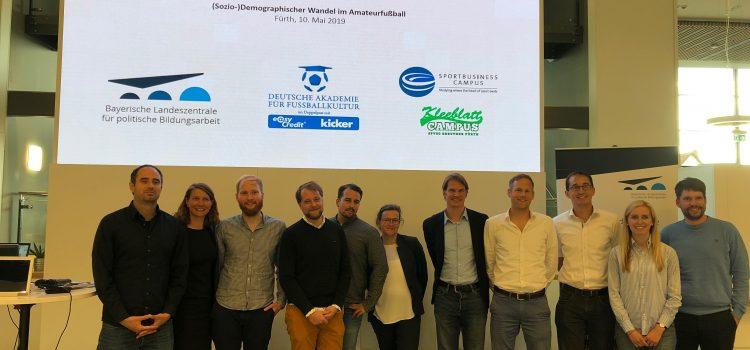 Mikrokosmos Amateurfußball zu Gast bei Ka Lehmanns Uni in Fürth