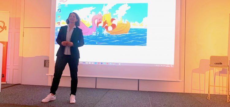 Speakerin zum Thema Resilienz in Wirtschaft und Sport