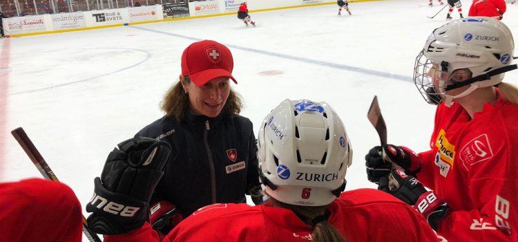 Ka Lehmann Assistenztrainerin der Schweizer Eishockey Nationalmannschaft