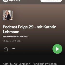 Sportmanufaktur Podcast mit Ka