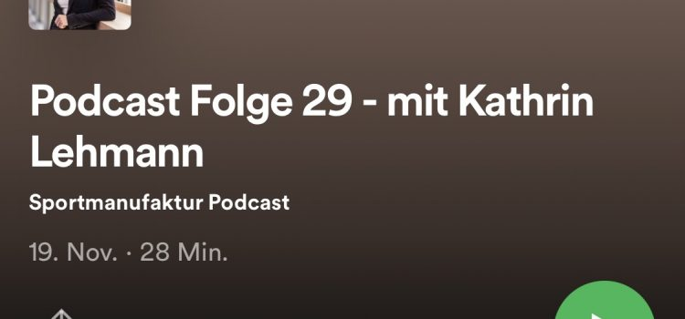 Sportmanufaktur Podcast mit Ka