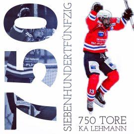 750. Eishockey-Tor