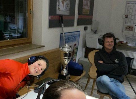 Podcast Bisslhockey mit Ka, Julia Zorn und Michael Lehmann