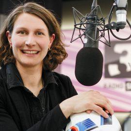 SRF3 Fußball-Expertin während EM